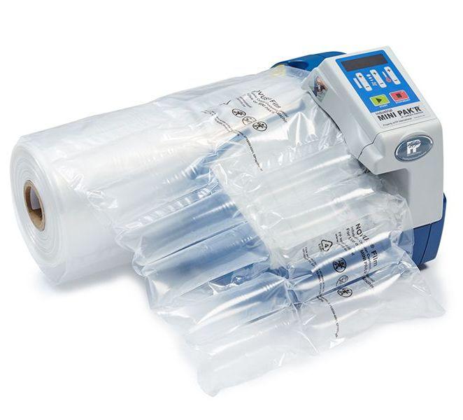Stroj na výrobu výplní zo vzduchových vankúšikov Minipakr
