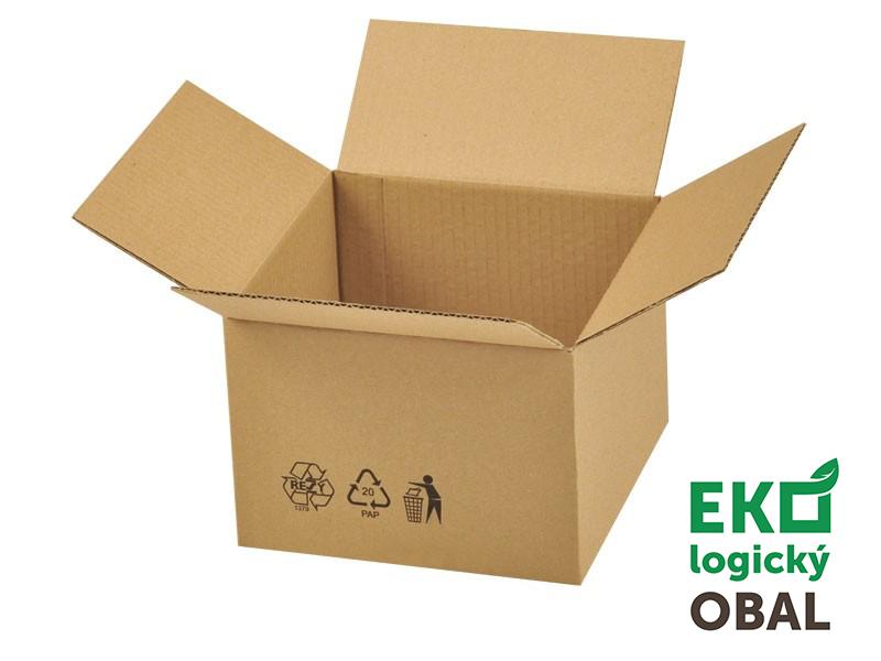 Klasické kartónové krabice